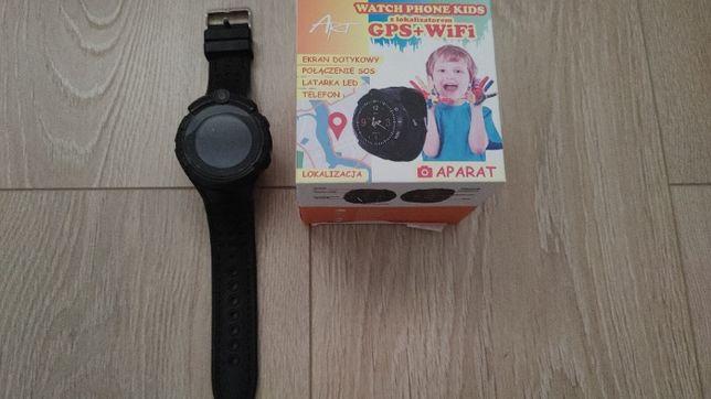 Smartwatch dziecięcy, Art Watch Phone Kids Black