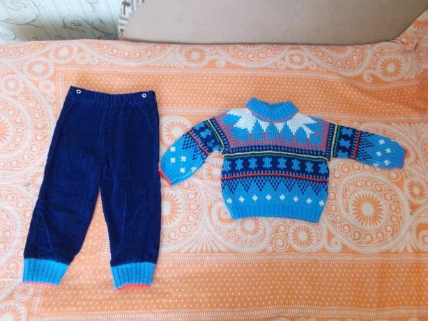 Костюмы детские теплые 18-24 месяца