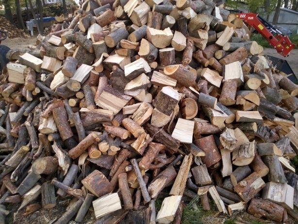 Drewno opałowe kominkowe suche transport