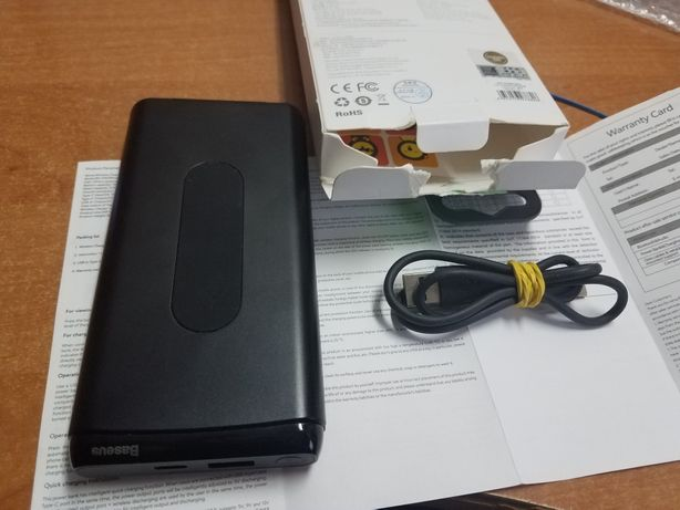 Baseus power-bank indukcyjny 10000 mah qc-3 usb-c polecam