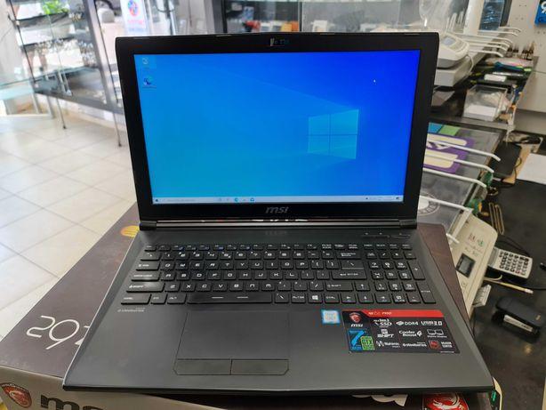 MSI GL62 7RD/ i5-7300HQ/ 16GB/ 1TB + 256GB SSD/ W10/ GTX 1050 4GB