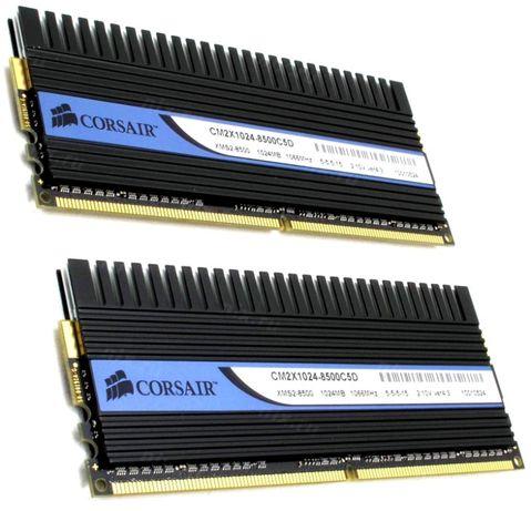 Игровая оперативная память Corsair Dominator DDR2 2Gb 1066MHz PC2 8500
