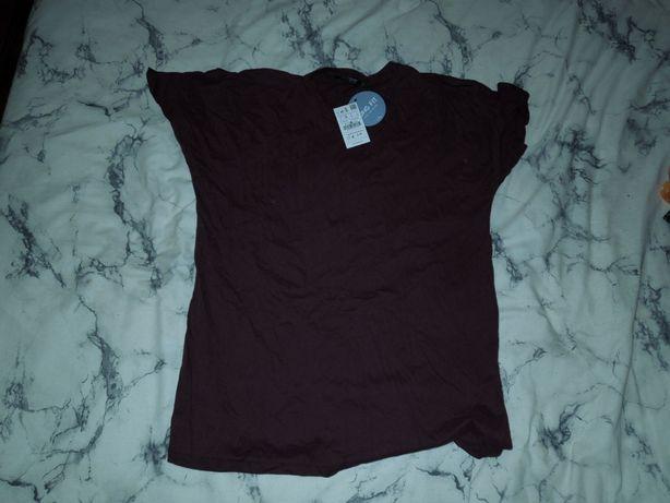 T-shirt Roxa homem Pull and Bear