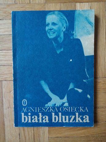 Agnieszka Osiecka Biała bluzka