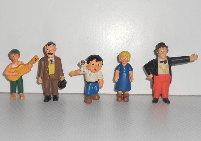 coleção completa boneco figuras pvc Marco - Majora 1978