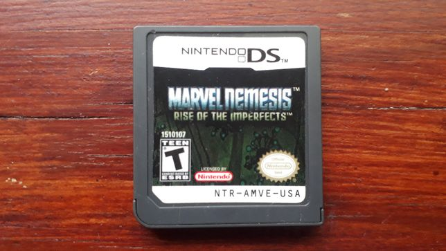 nintendo DS Marvel Nemesis Rise of the Imperfects