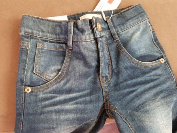 Nowe spodnie jeansowe rozm. 104 3-4 lata NAME IT