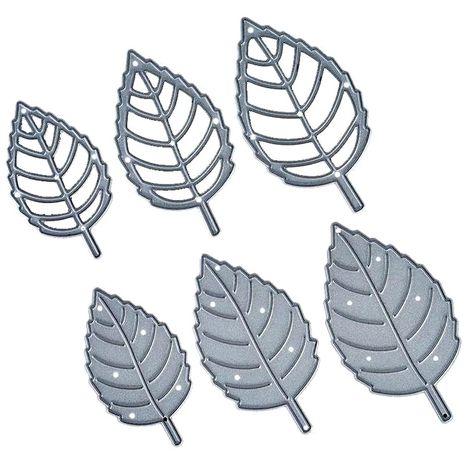 Wykrojnik liście ,listki 6szt