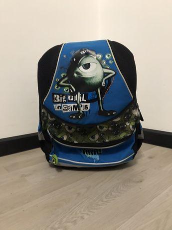 Рюкзак ортопедичний шкільний, портфель каркасний міньйон