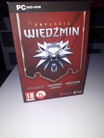 Wiedźmin trylogia- gra na PC