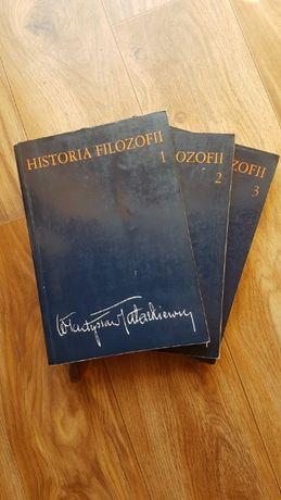 Historia filozofii, Tatarkiewicz 3 tomy
