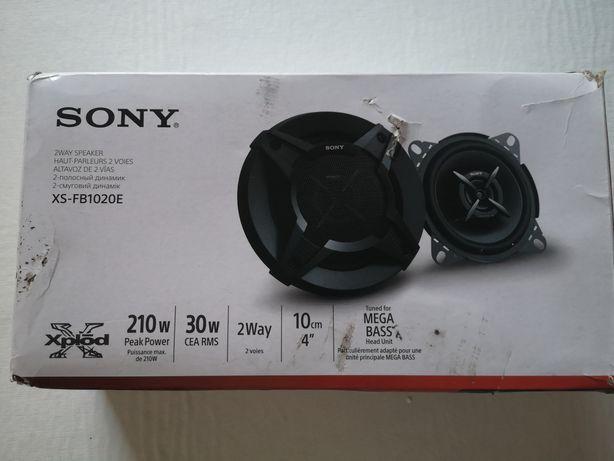 Colunas de som Sony