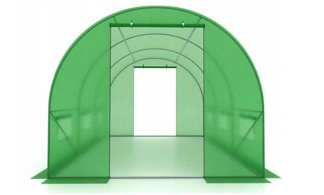 Tunel ogrodowy foliowy 2,5x4m 10m2 szklarnia folia*WZMOCNIONY Stelaż!*