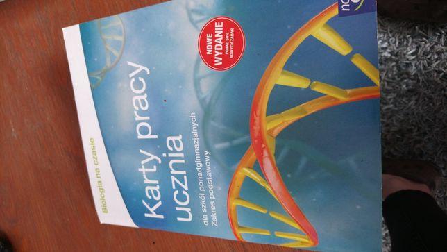 Karty pracy biologia