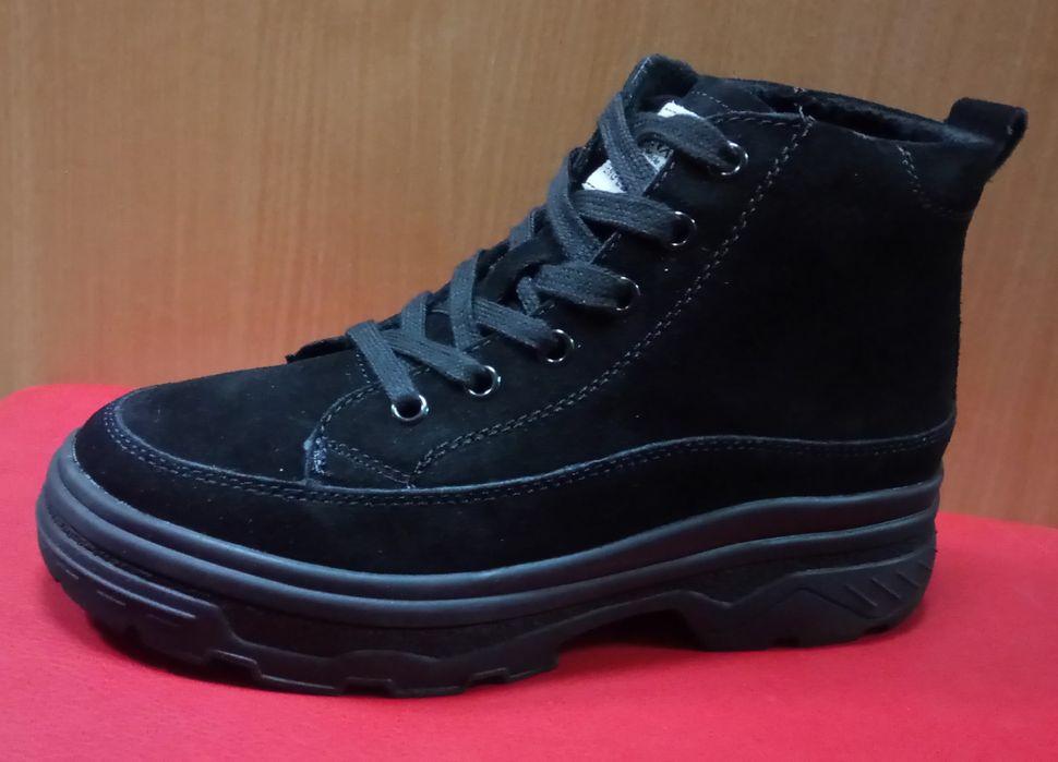 Замшевые демисезонные ботинки Чернигов - изображение 1