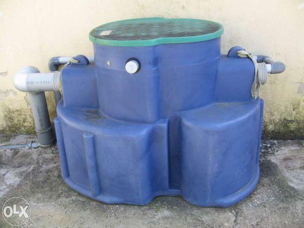 Máquina tratamento águas residuais