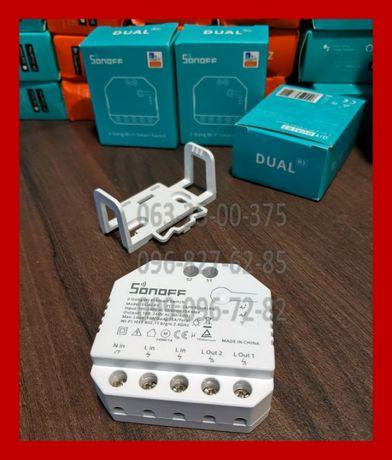 13.04.21 Sonoff DUAL R3 (MINI, RF, POW R2, TH16, DUAL тоже в наличии)