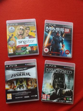 Gry Singstar Polskie Hity Mass Effect 2 Tomb Raider Trilogy Dishonored