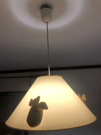 Conjunto de iluminação/decoraçao de crianca