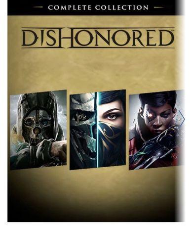 Dishonored полная коллекция ps4 аккаунт