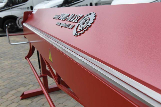 Zaginarka Giętarka RED 3 metrowa 0.8 z wycięciami bocznymi PROD-MASZ