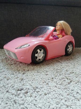 Auto Duży Kabriolet dla barbie firmy Mattel + lalka