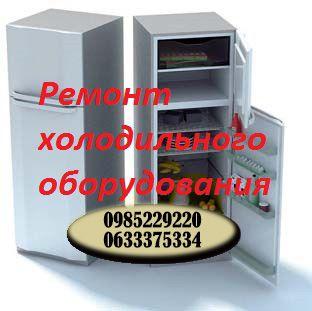 Ремонт холодильников, морозильных камер и т.д.