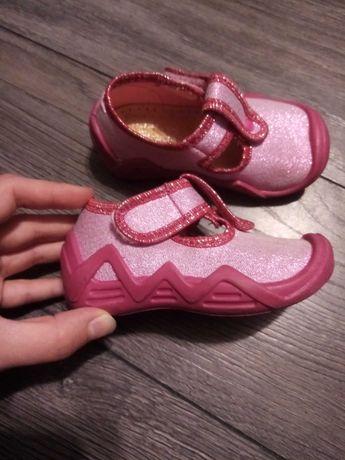 Buty Kornecki rozmiar 20 róż dziewczynka porządne podeszwy