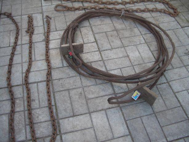 Трос стальной буксировочный 18мм Х13метров