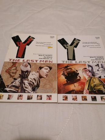 Y: The last man Vol 1 & 2