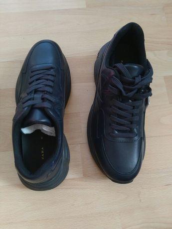 Nowe buty Zara buty męskie rozmiar 40 skóra wkładka 26 cm pół ceny
