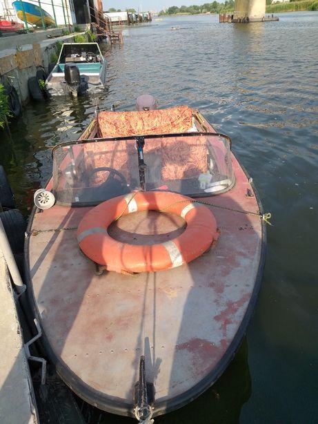Лодка Днепр мотор Тохатцу продаю или меняю на дачу