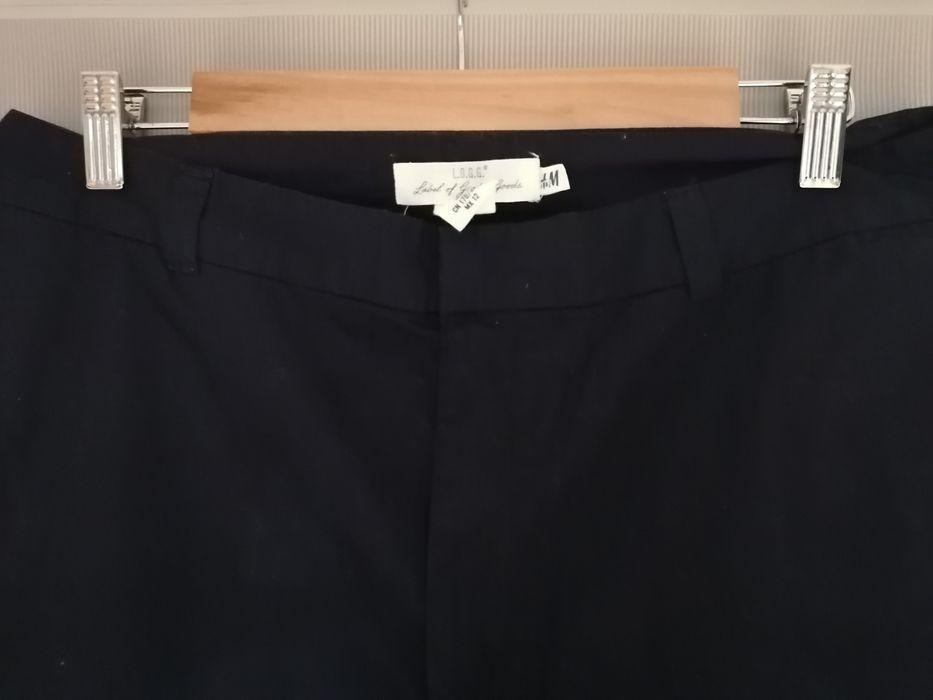 Granatowe spodnie H&M rozmiar 42 Białystok - image 1