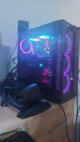 Komputer PC; i7 9700k ; Aorus Z390 MASTER ; be quiet 1000w ; AIO aRGB.