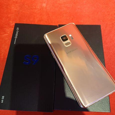 Samsung Galaxy S9 Sunrise Gold Limited 64 GB Złoty,Zadbany od Pani