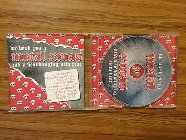 CD компакт диски We Wish You Metal Xmas много другого Hard Rock'a