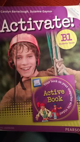 podręcznik do nauki języka angielskiego Activate B1 z płytą