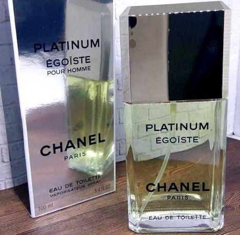 Chanel Egoiste Platinum мужской парфюм духи и ПОДАРОК