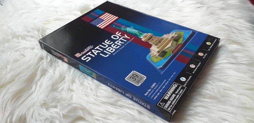 Puzzle układanka 3D, statua wolności. Nowe. Milicz - image 1