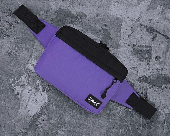 Поясная сумка Famk R3 Violet black
