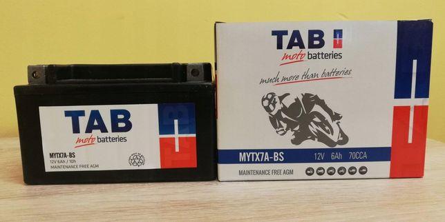 Akumulator motocyklowy Tab 12V/6Ah Ytx7a-bs