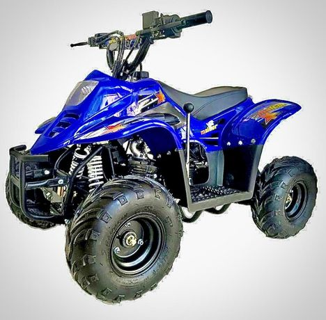 Moto4 110cc Azul mini quad motor 4 tempod