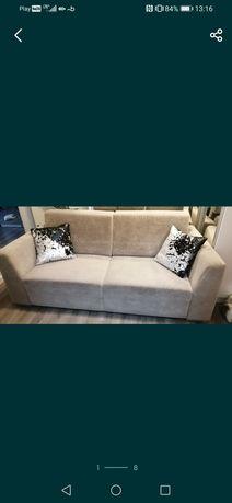 Zestaw kanapa i 1 fotel bardzo wygodne!