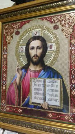 """Икона из Святогорского монастыря """"""""Спаситель"""""""""""
