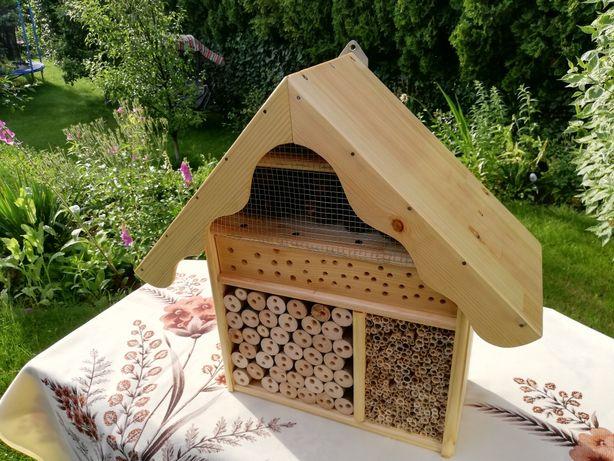 Domek dla pszczół i owadów (nowy,lakierowany) duży