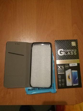 Etui do telefonu Samsung Galaxy A6+(Czarny)+szybka