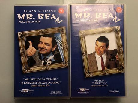 2 cassetes VHS - Mr. Bean