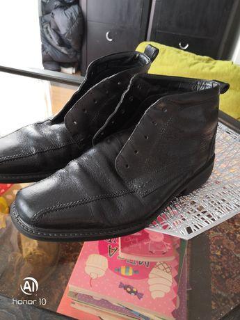 Buty Pantofle Eco skóra rozmiar 42 wkladka 29cm jak NOWE