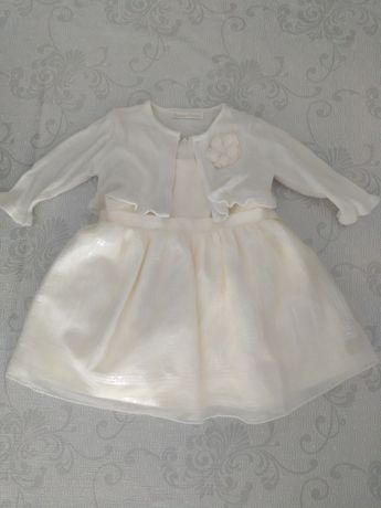 Sukienka chrzest, ślub komunia 74-80