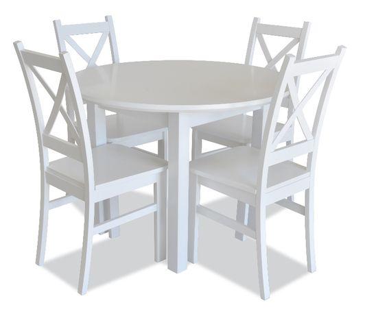 Zestaw do jadalni Z34R - stół + 4 krzesła